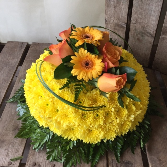 Yellow Posy Pad