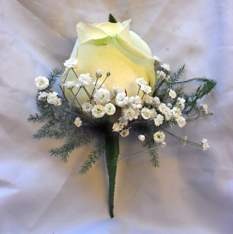 Ladies Rose Buttonholes