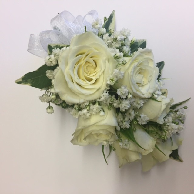 Spray Rose wrist corsage